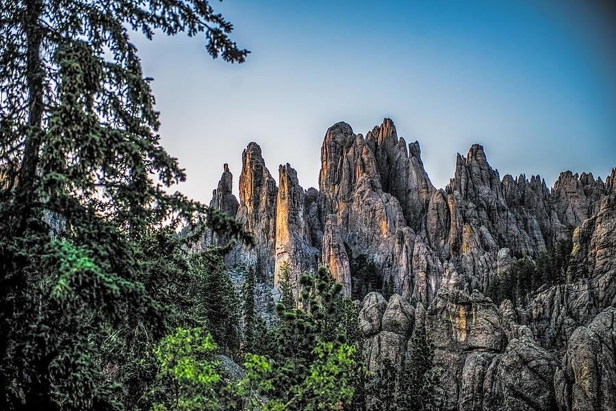 Mountain Photograph - Black Hills Needles by Paul Freidlund