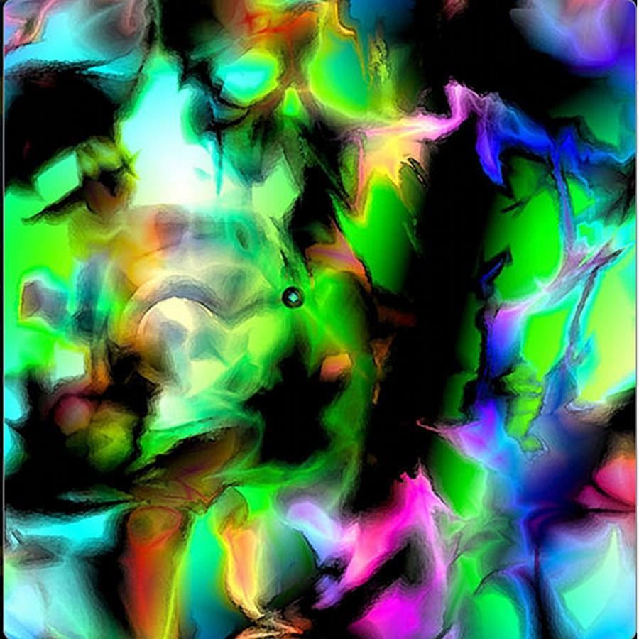 Black Hole Digital Art - Black Hole by Krazee Kustom