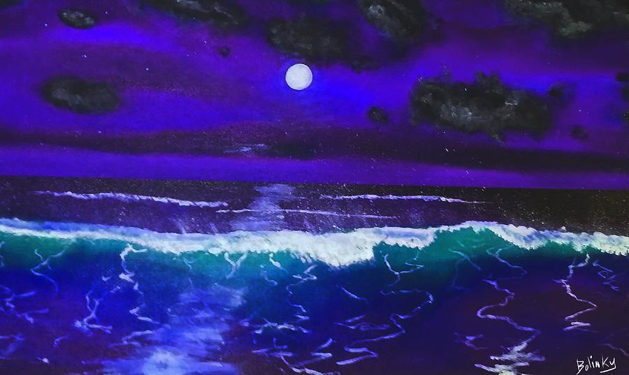 Black Light Night Painting