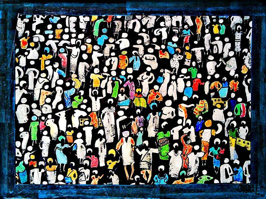 Black Market Painting by Auckel Vishal