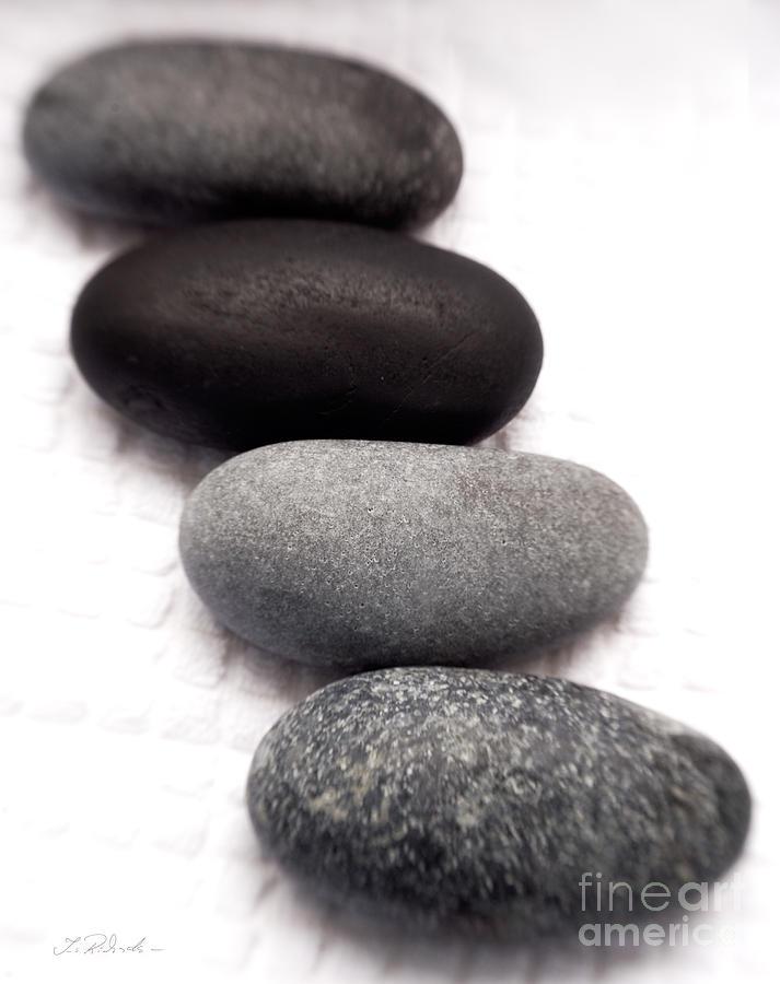 Stones Photograph - Massage Stones by Iris Richardson