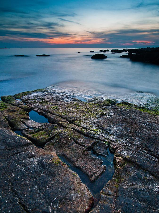 Black Photograph - Black Rock by Davorin Mance