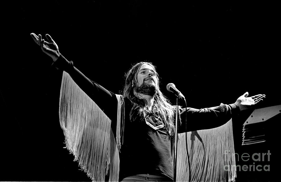 Ozzy Osbourne Photograph - Black Sabbath Ozzy 1977 #2 by Chris Walter