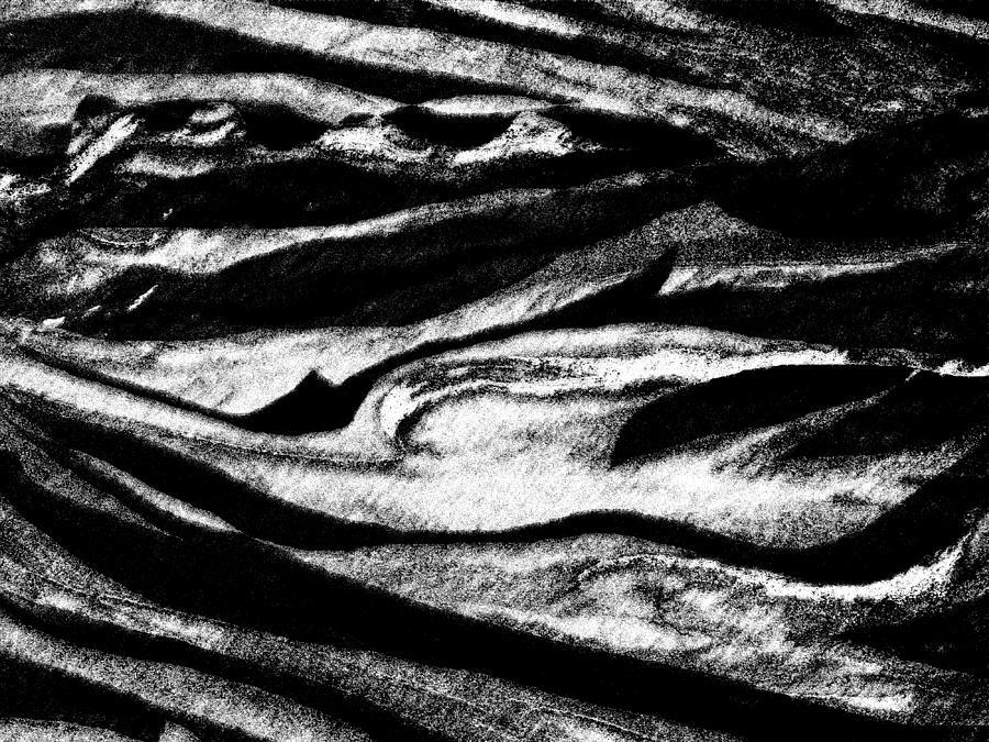 Black Sand  Digital Art by Expressionistart studio Priscilla Batzell