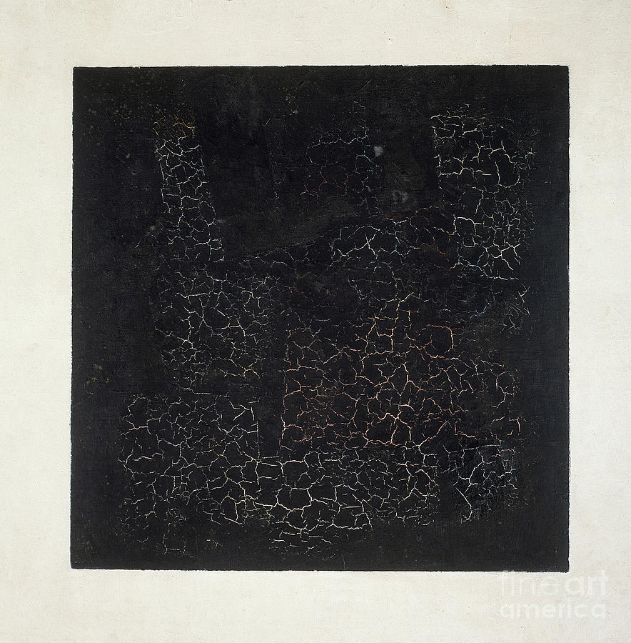 Suprematist; Shape; Abstract; Geometric; Minimalist; Suprematism; Minimalism; Abstract Painting - Black Square by Kazimir Malevich