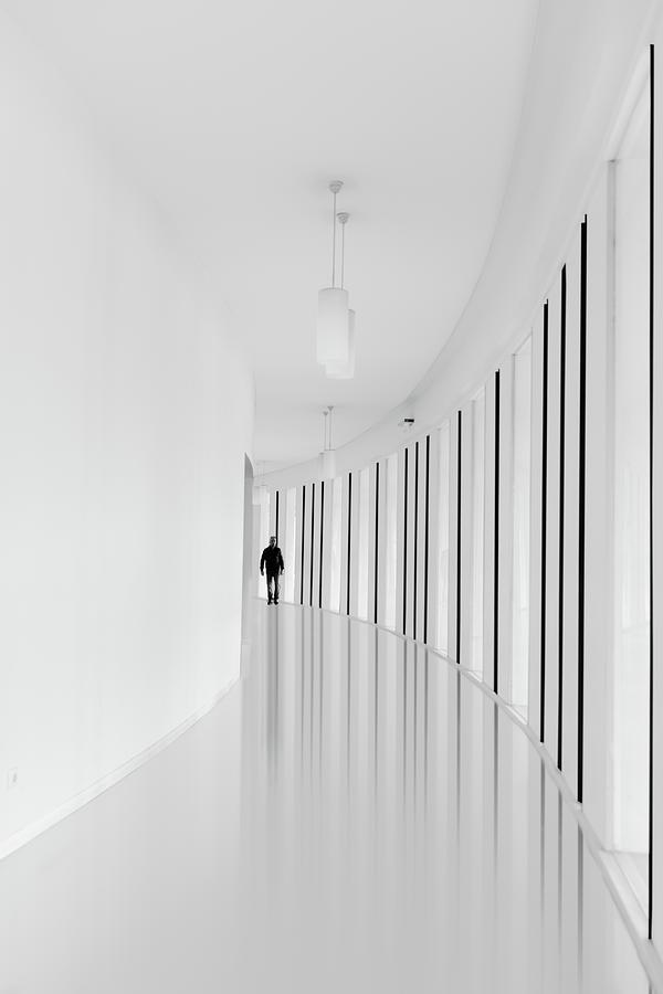 High-key Photograph - Black Strips by Jo?o Castro
