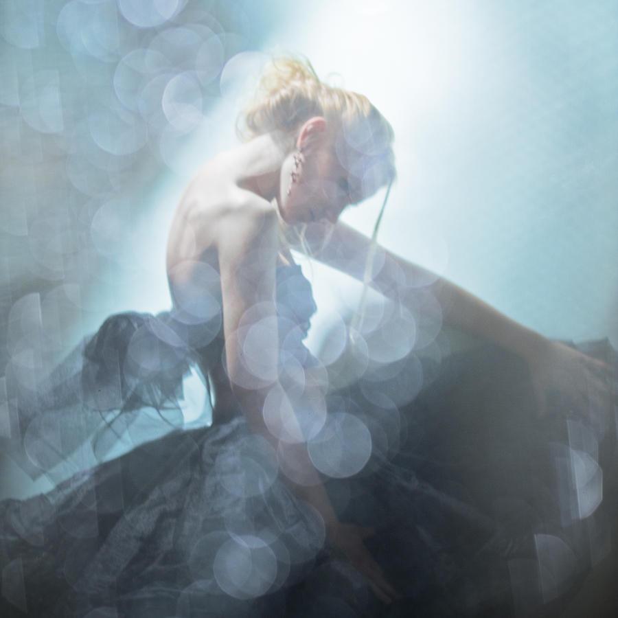 Girl Photograph - Black Swan by Eugenia Kirikova