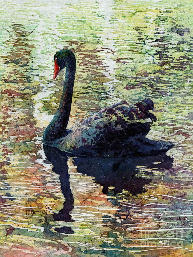 Black Swan Painting