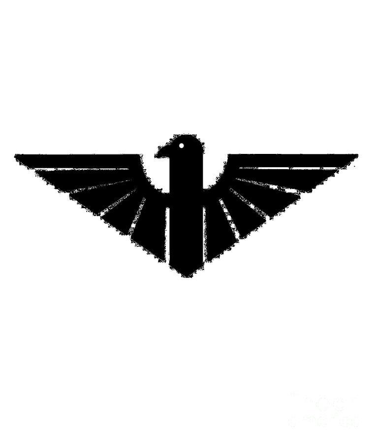 Black Digital Art - Black Thunderbird 3 by Frederick Holiday