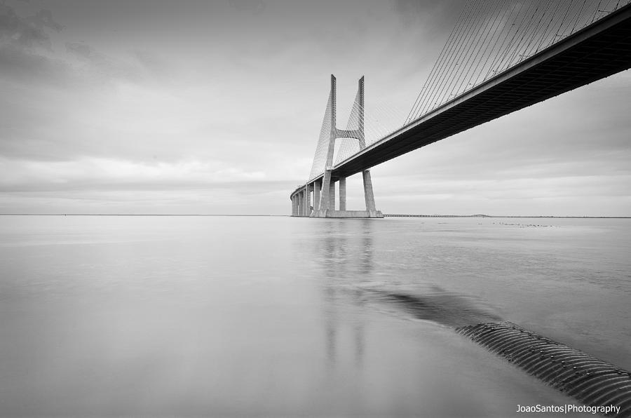 Landscape Photograph - Black Tube by Joao Santos