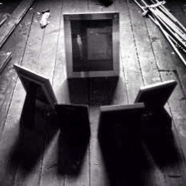 Shadows Photograph - #blackandwhite #abstract #highcontrast by Matthew Bryan Beck