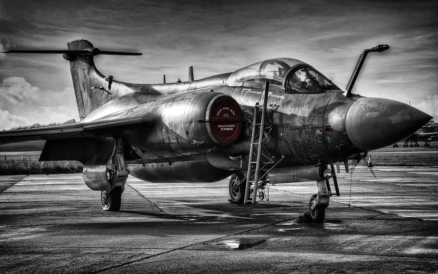 Blackburn Photograph - Blackburn Buccaneer by Jason Green