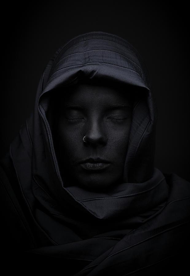 Black Photograph - Blackface by Look J. Boden
