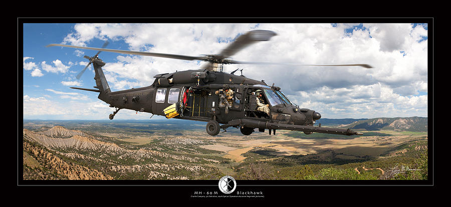 Blackhawk Helicopter Photograph by Larry McManus