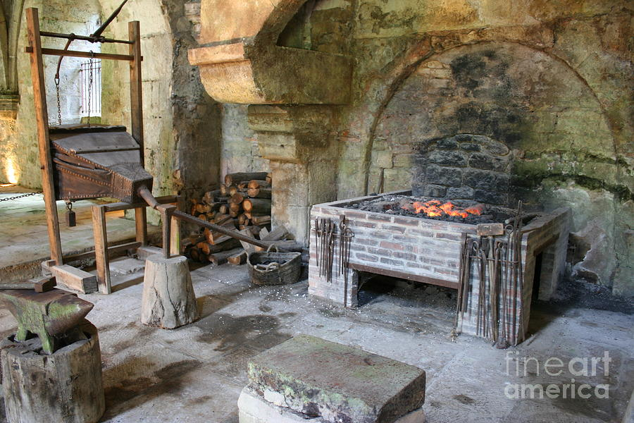 Blacksmith Photograph - Blacksmiths Workshop by Christiane Schulze Art And Photography