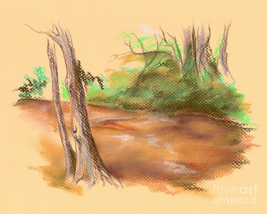 Creek Pastel - Blackwater Creek by MM Anderson