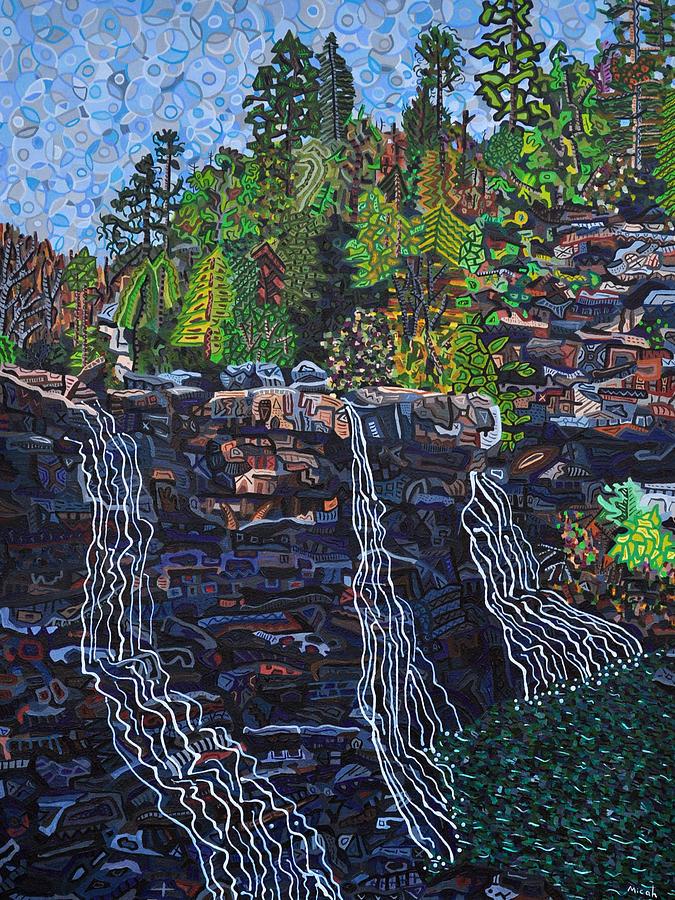 Blackwater Falls Painting - Blackwater Falls by Micah Mullen