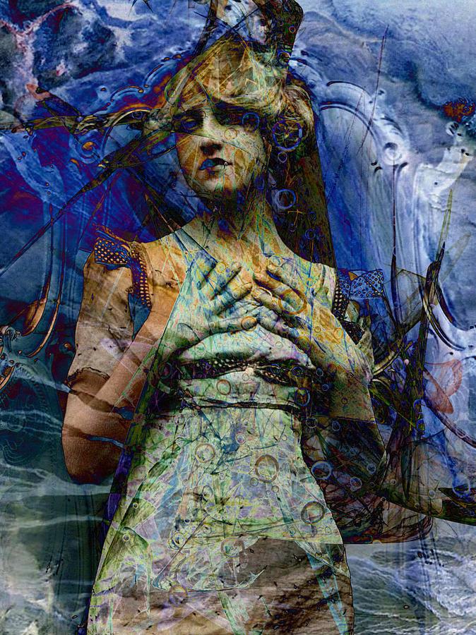 Digital Digital Art - Blade Apophysis Venti by Mary Clanahan