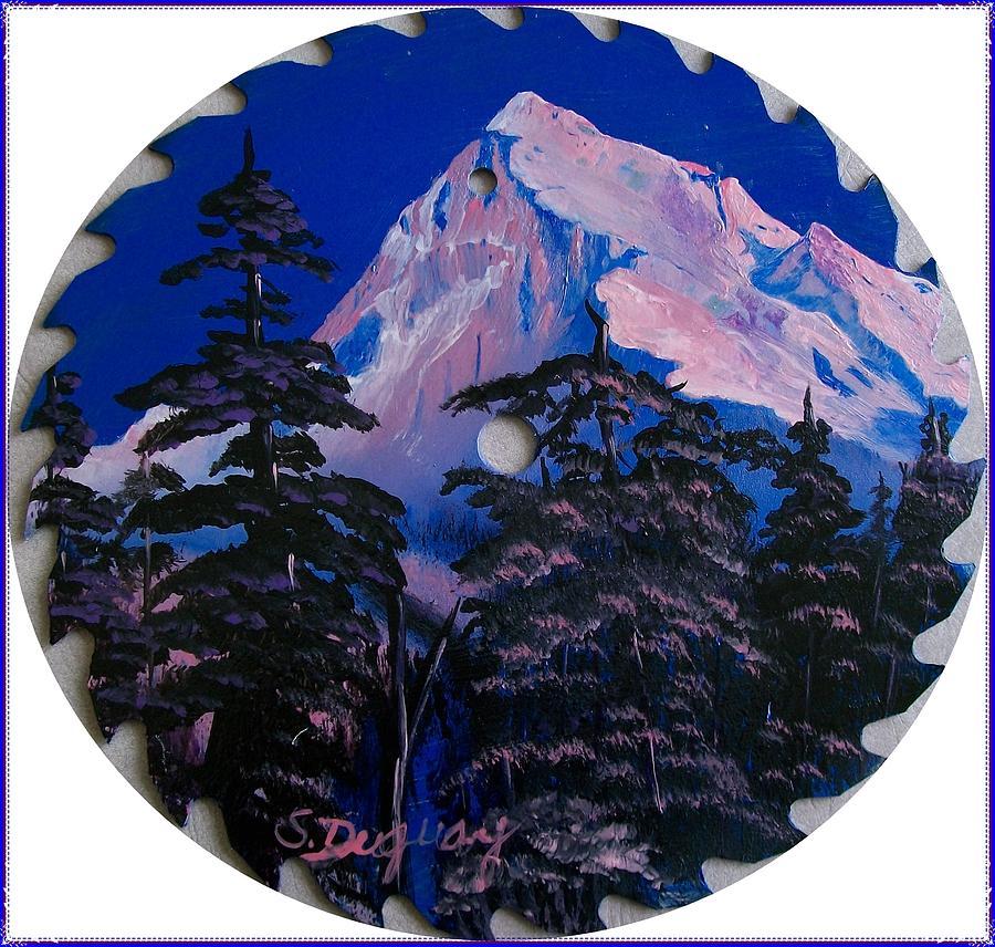 Blade Mountain Painting