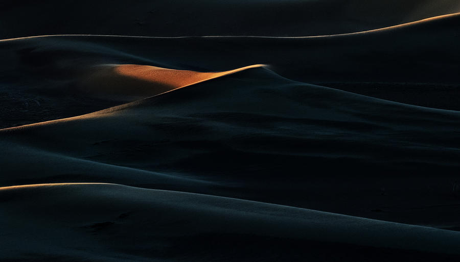 Landscape Photograph - Blades Of Light by Mohammad Shefaa