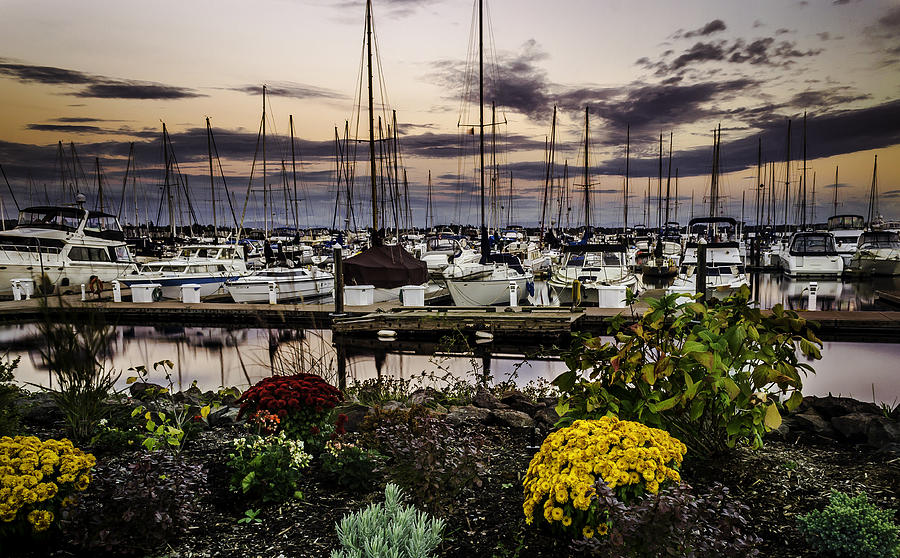 Sunset Photograph - Blaine Harbor by Blanca Braun