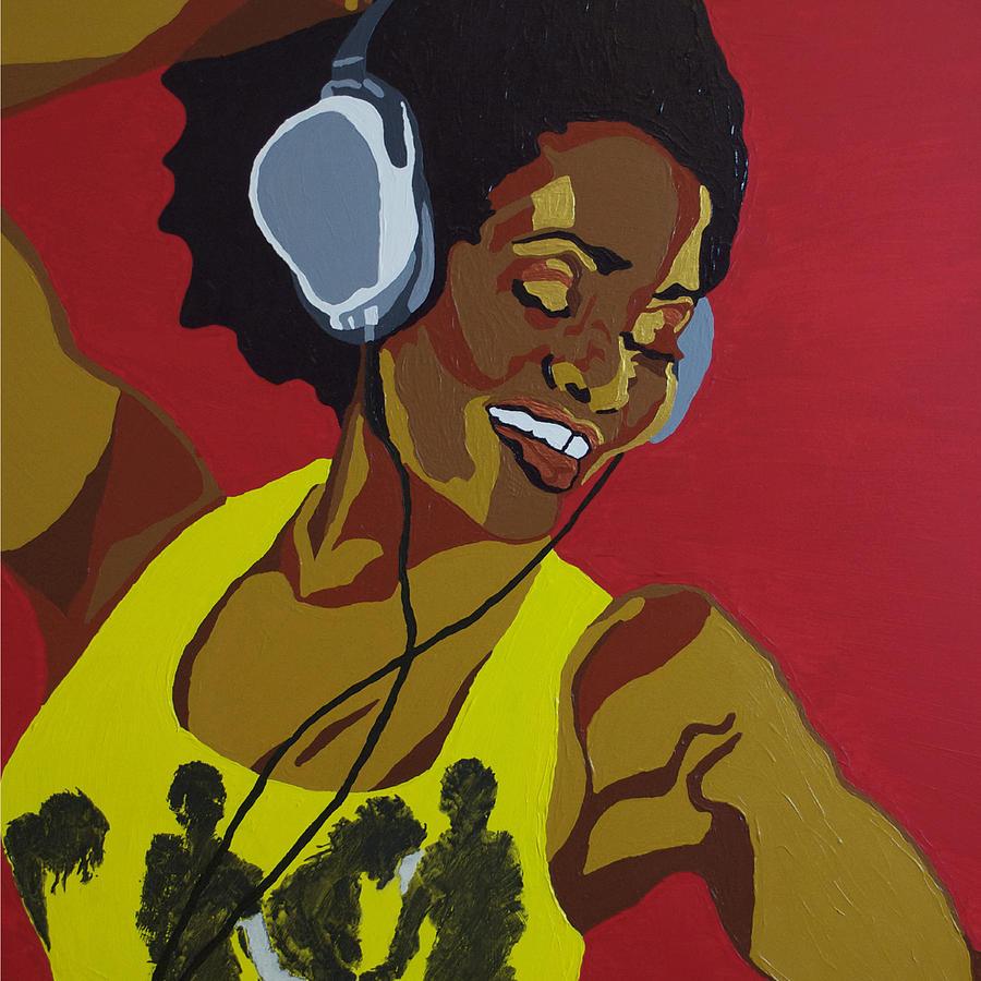 Acrylic Photograph - Blame It On The Boogie by Rachel Natalie Rawlins