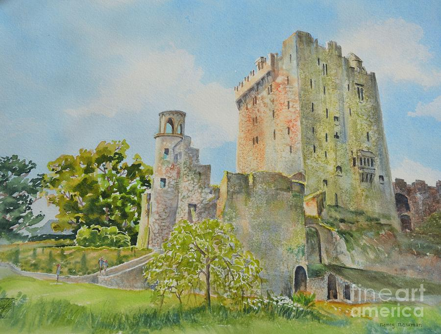 Blarney Painting - Blarney_castle_1 by Nancy Newman