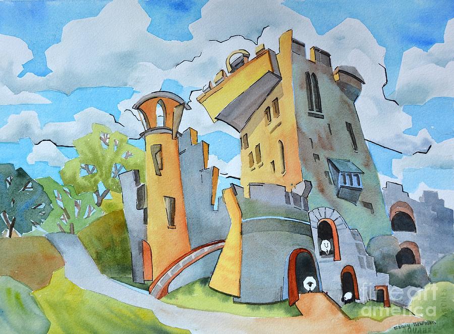 Blarney Painting - Blarney_castle_ii by Nancy Newman