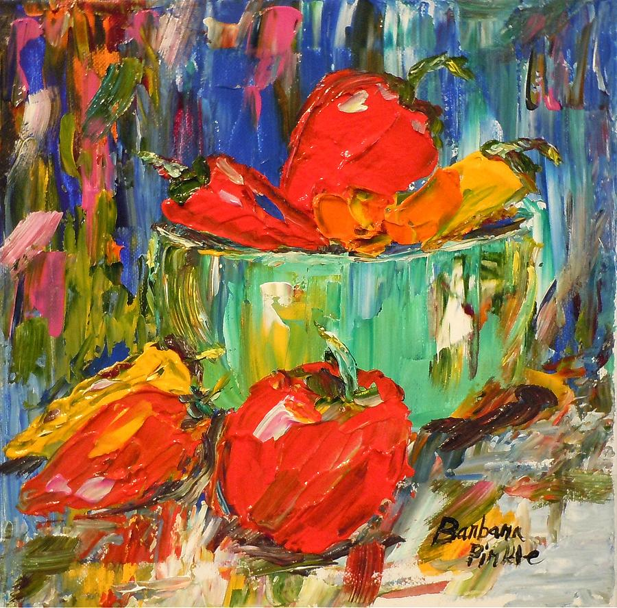 Color Painting - Blast Of Color by Barbara Pirkle