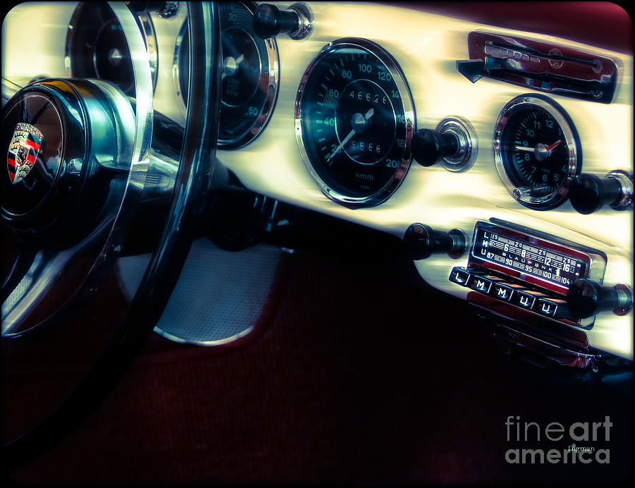 Car Photograph - Blaupunkt By 1964 by Steven Digman