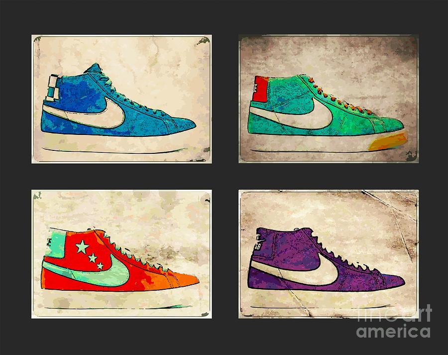 Nike Photograph - Blazer Set by Alfie Borg