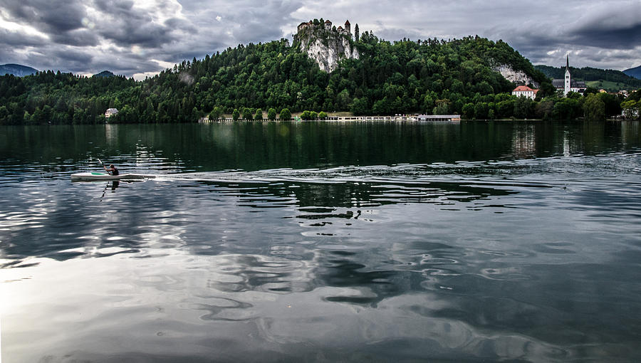 Bled Photograph - Bled Lake Landscape by Luca Lorenzelli