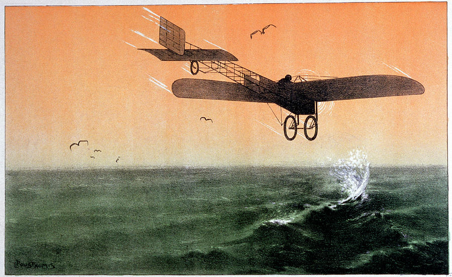 Bleriot Xi Photograph - Bleriot Crossing The Channel by Cci Archives/science Photo Library