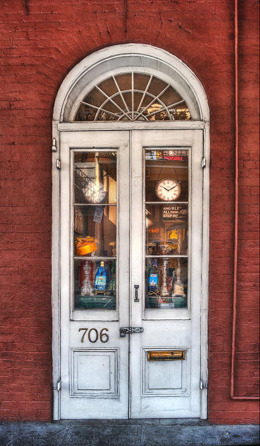 Door Photograph - Bless All Those Who Step Inside by Brenda Bryant