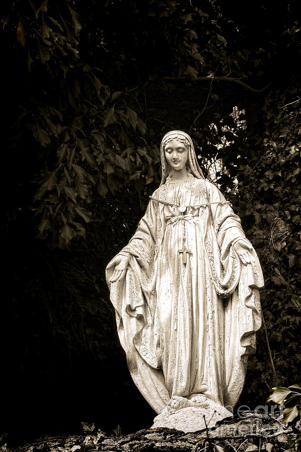 Blessed Photograph - Blessed Virgin Mary by Olivier Le Queinec