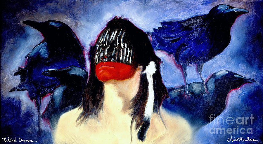 Will Bullas Painting - Blind Crows... by Will Bullas