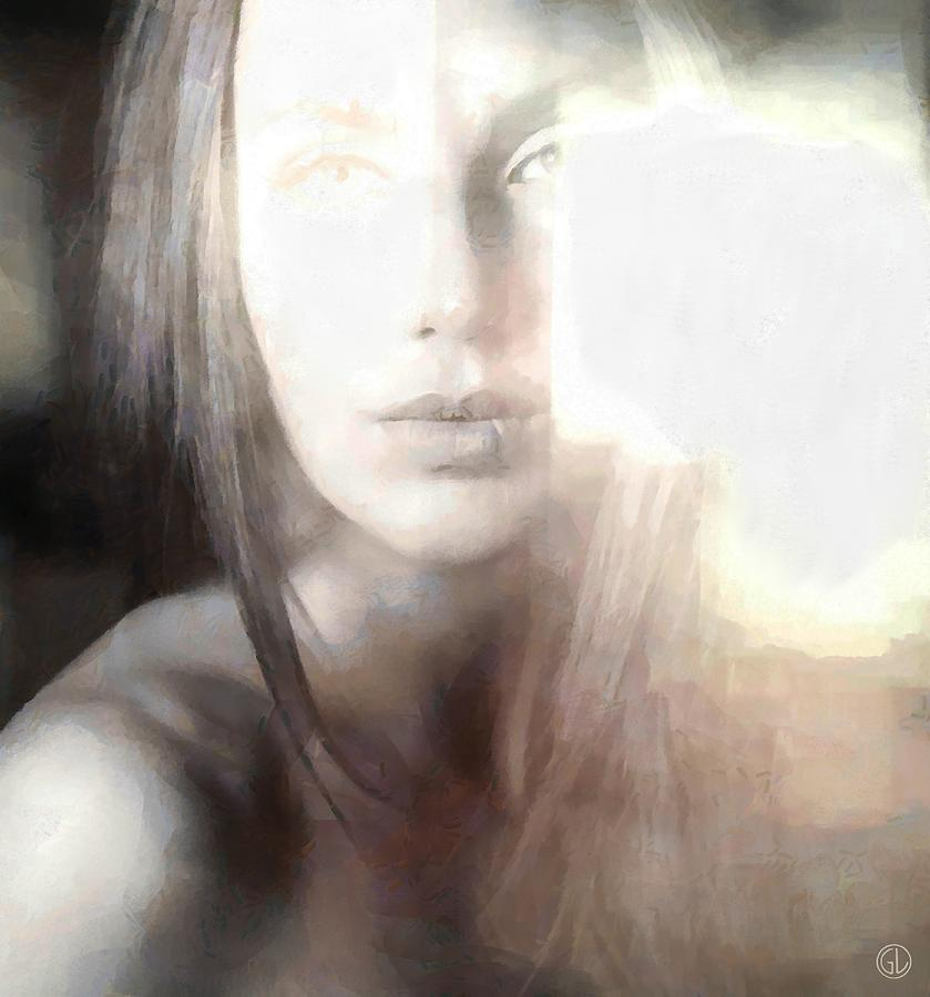 Woman Digital Art - Blinded By The Light by Gun Legler