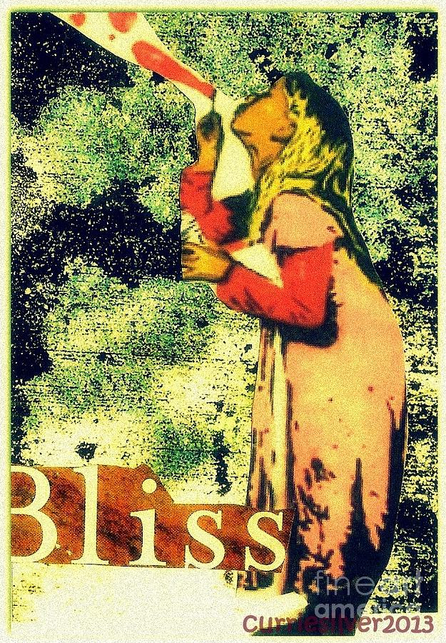 Bliss Digital Art by Currie Silver