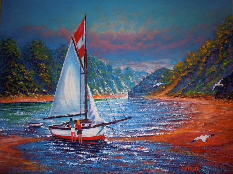 Blissful Moment Painting by Joseph   Ruff
