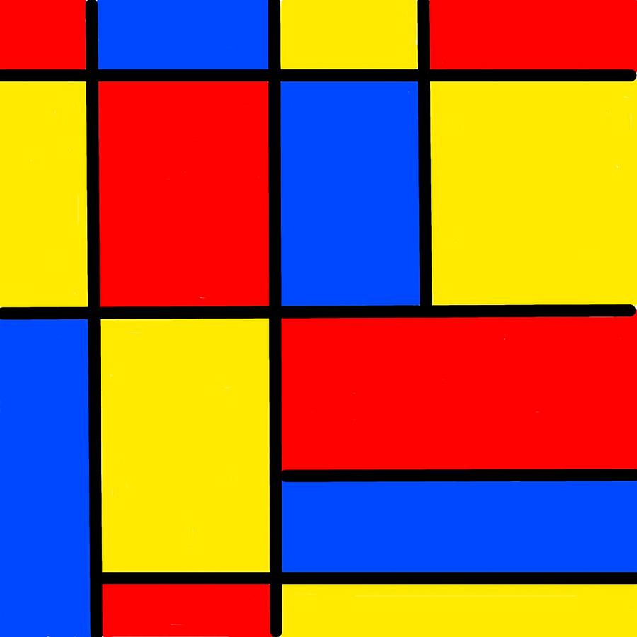 Blocks Digital Art - Blocks by Krazee Kustom