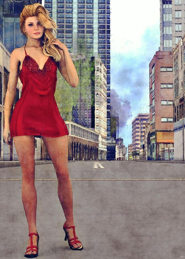 Blonde In The City by Maynard Ellis