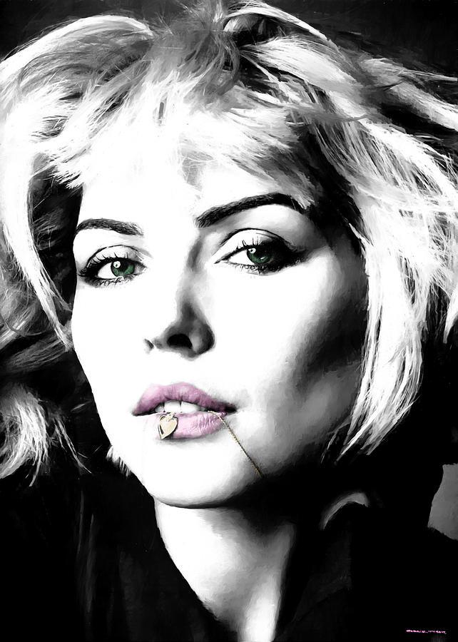 Blondie Digital Art - Blondie Large Size Portrait by Gabriel T Toro