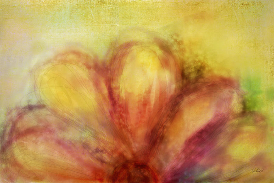 Flower Painting - Bloom  by Ann Powell