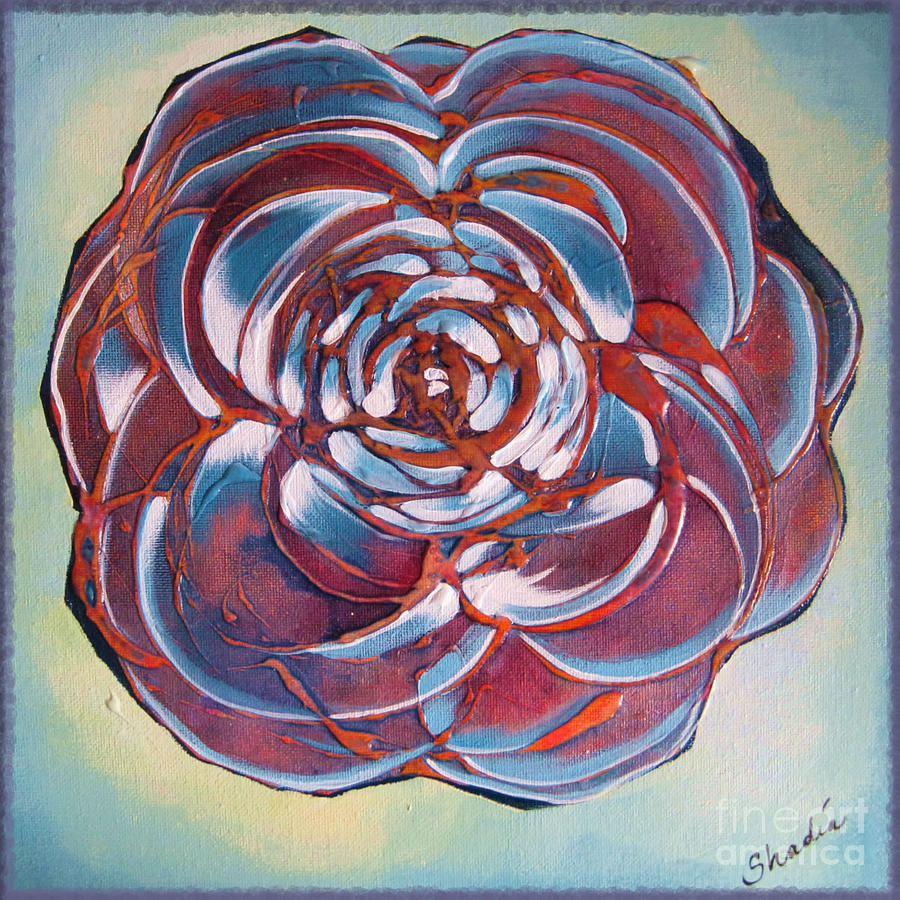 Bloom Painting - Bloom II by Shadia Derbyshire