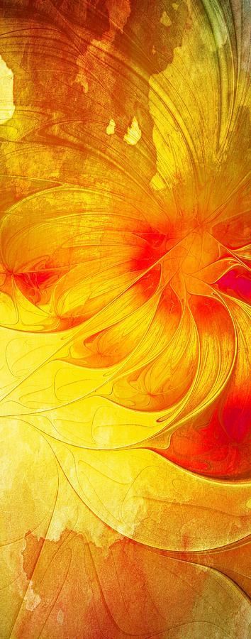 Fractal Digital Art - Blooming Spring by Amanda Moore