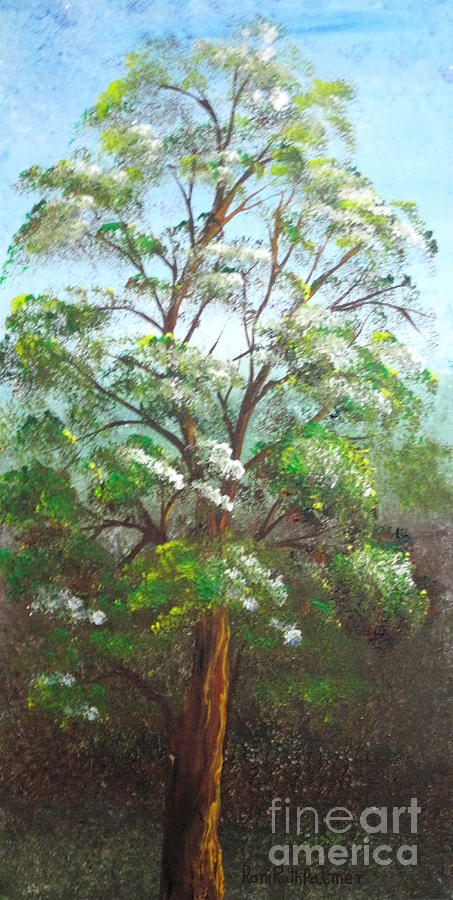Tree Painting - Blooming Tree by Roni Ruth Palmer