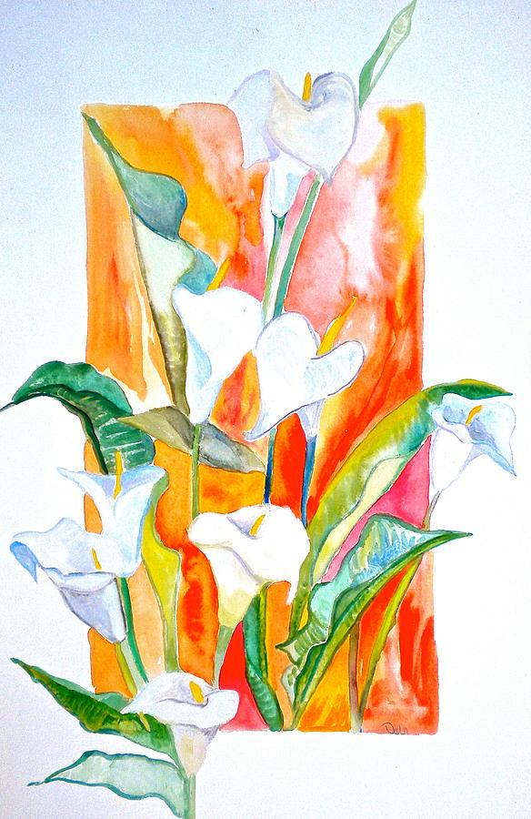 Watercolor Painting - Blooms Beyond Borders by Debi Starr