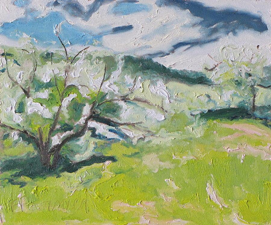 Fournier Painting - Blossom by Francois Fournier