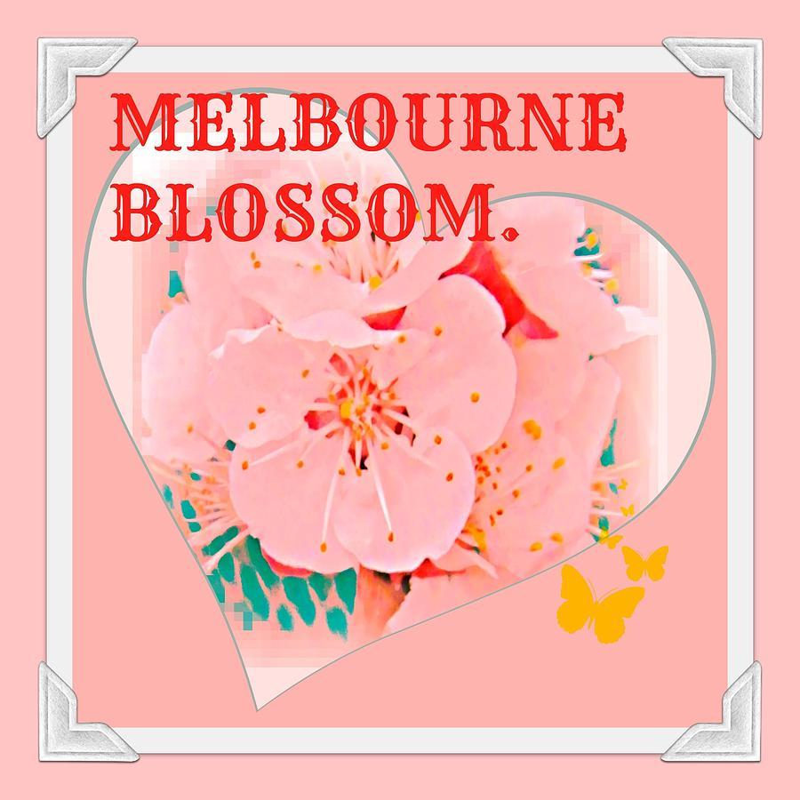 Melbourne Digital Art - Blossom In Melbourne by Meiers Daniel