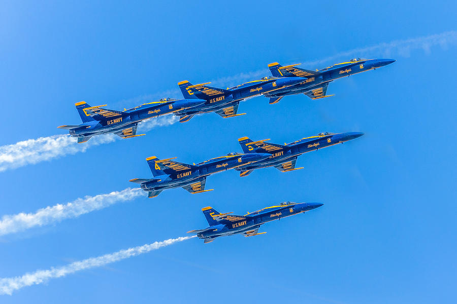 Blue Angels Series Number Four Photograph